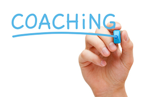 Coaching Blue Marker