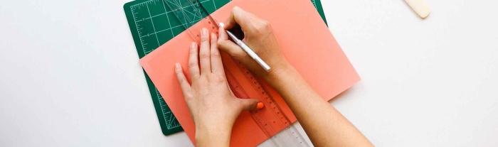 desk office pen ruler